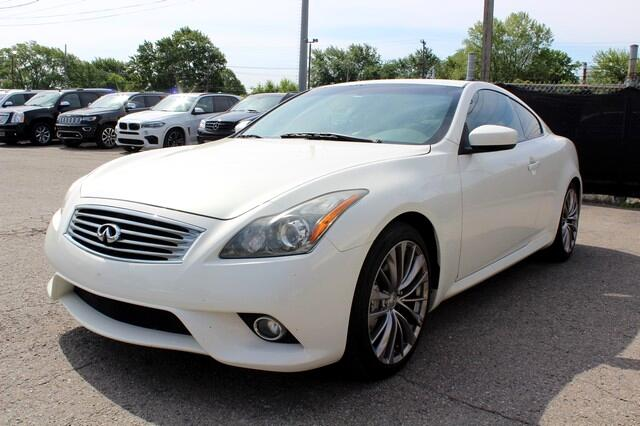 2012 Infiniti G37 Coupe 2dr Journey RWD