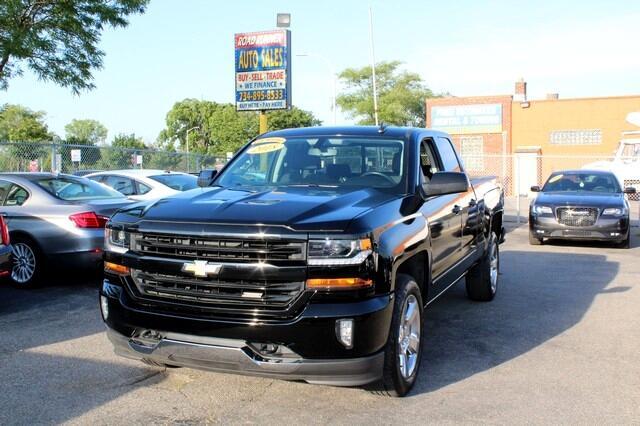 "2018 Chevrolet Silverado 1500 4WD Double Cab 143.5"" LT w/2LT"