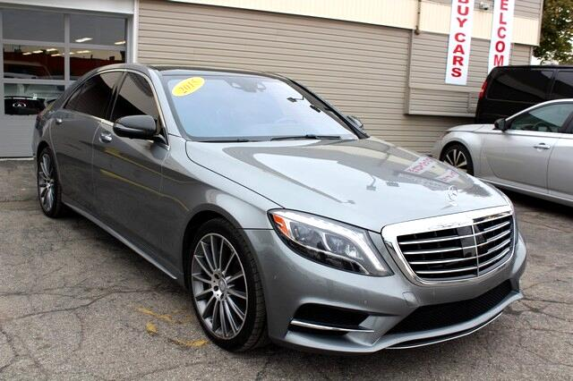 2015 Mercedes-Benz S550 4dr Sdn S 550 RWD