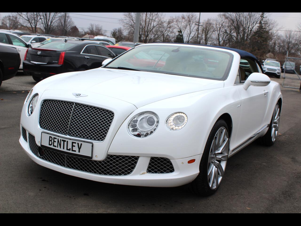 Bentley Continental GT 2dr Conv 2012