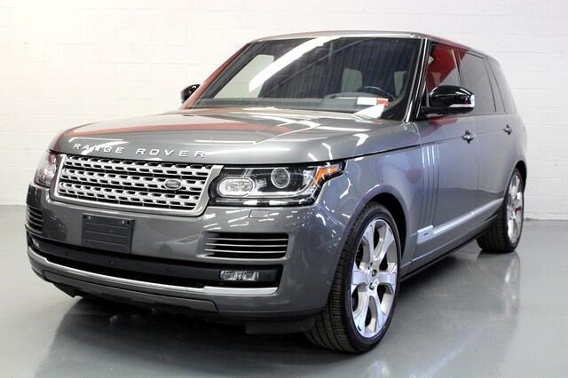 Land Rover Range Rover V8 Supercharged LWB 2017