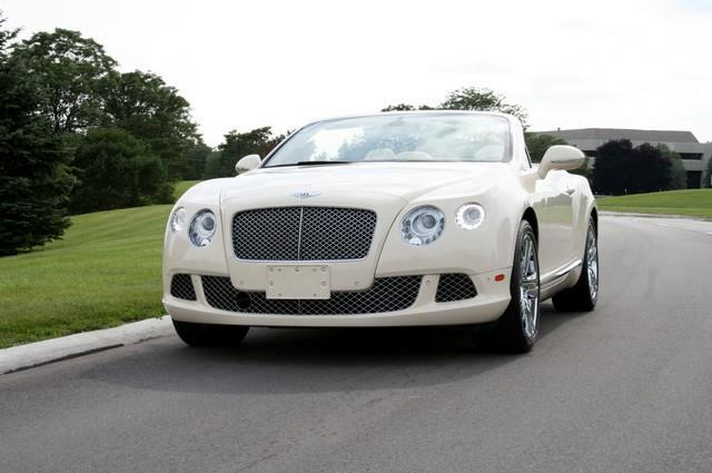 2012 Bentley Continental GT CONVERTABLE