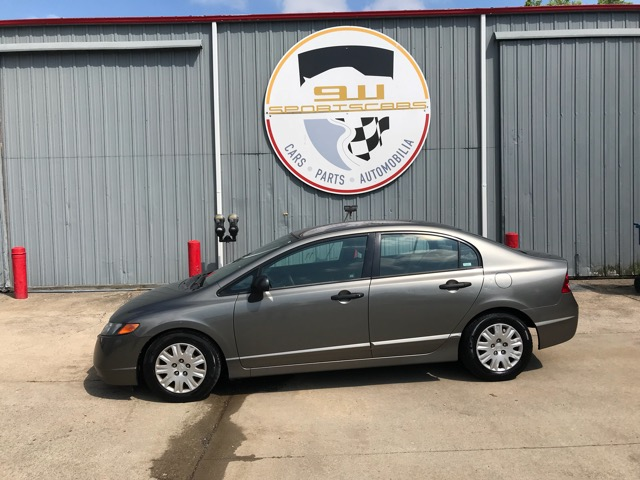 2006 Honda Civic LX Sedan 4-spd AT with Front Side Airbags