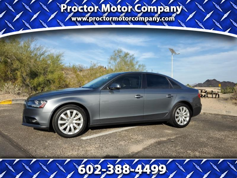 Audi A4 2.0 T Sedan FrontTrak Multitronic 2013
