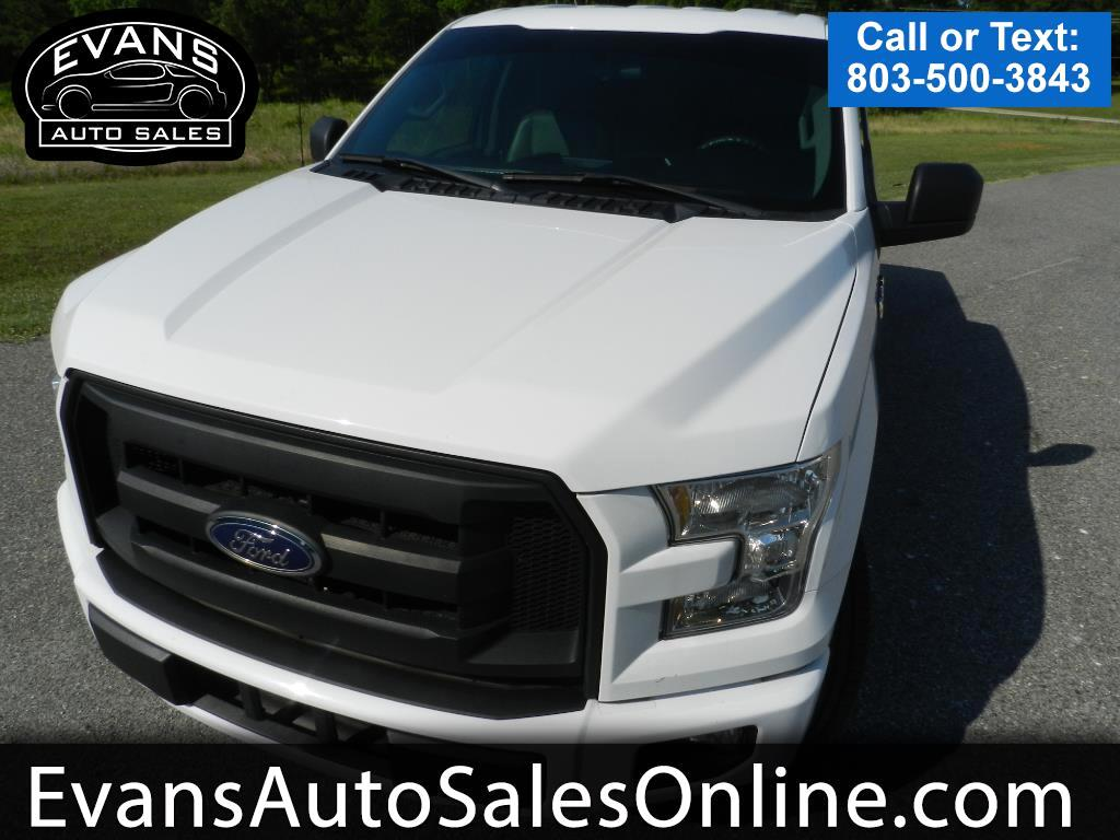 "2015 Ford F-150 2WD SuperCab 145"" XL"