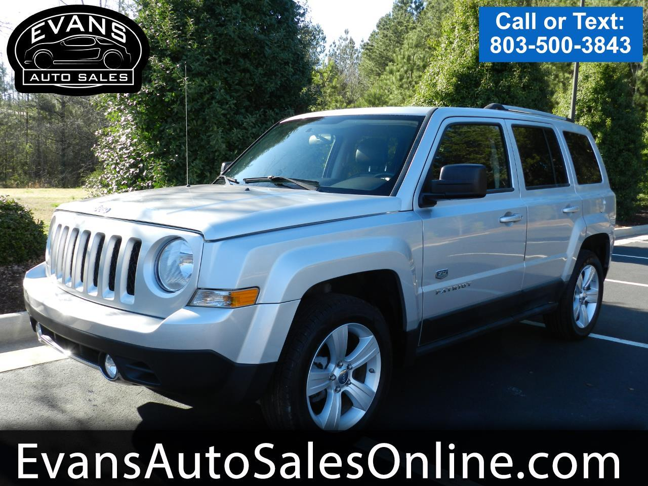 2011 Jeep Patriot FWD 4dr 70th Anniversary