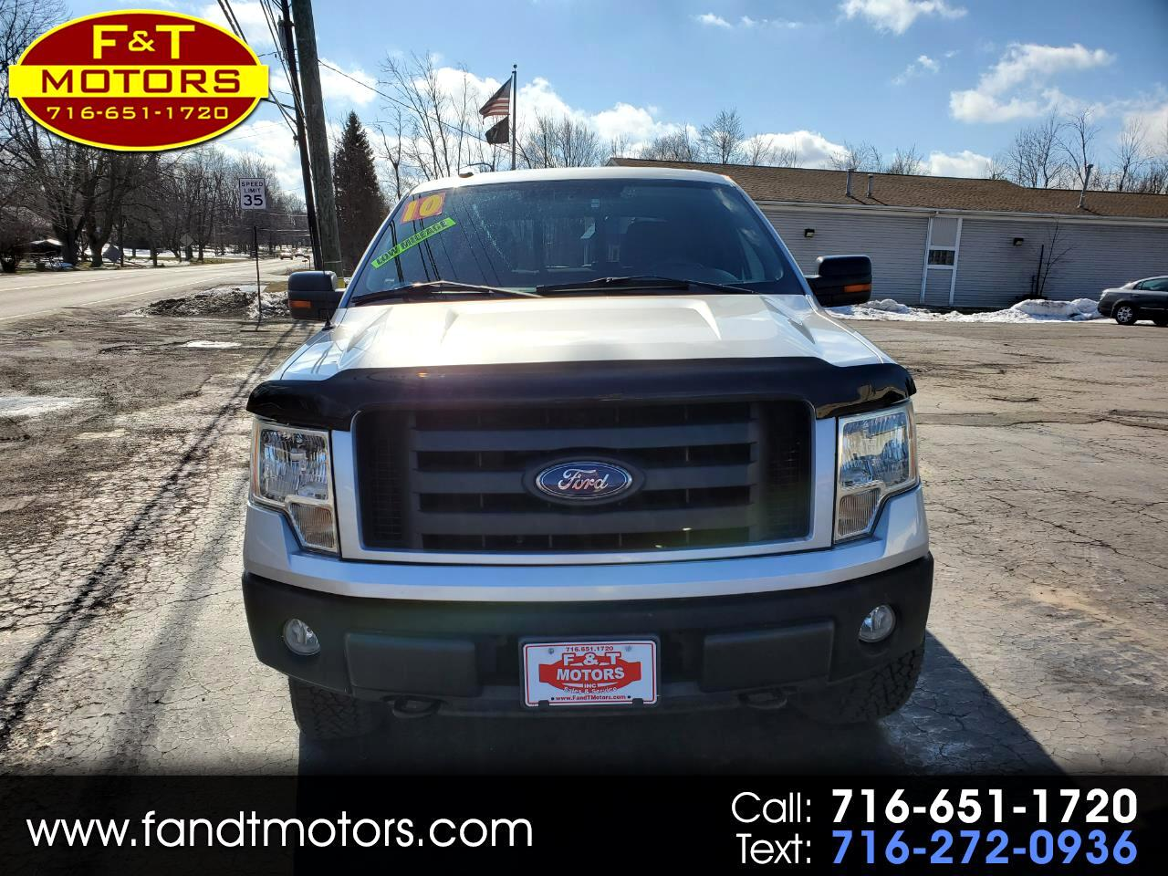 "Ford F-150 4WD SuperCrew 145"" FX4 2010"