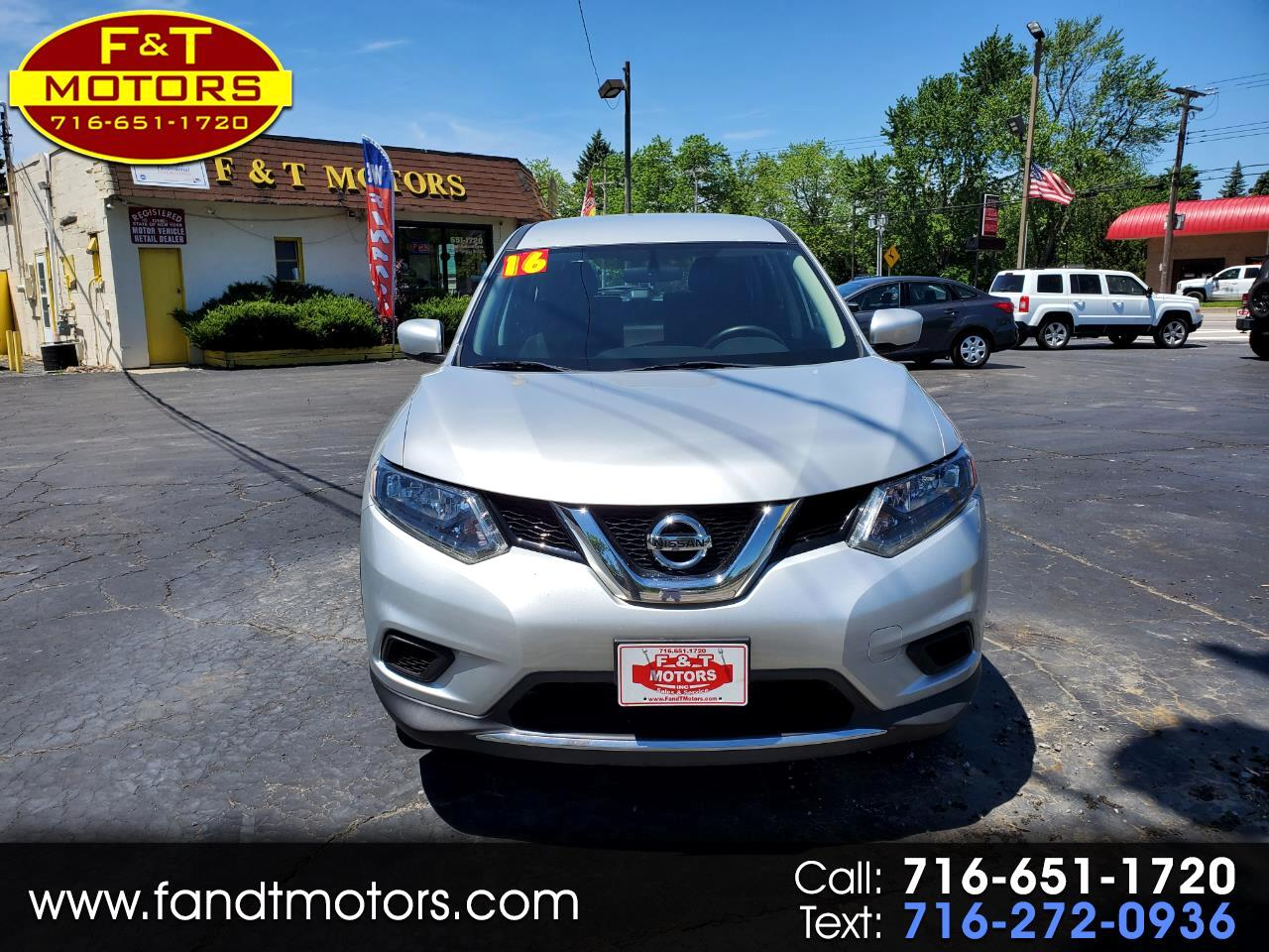Nissan Rogue AWD 4dr S 2016