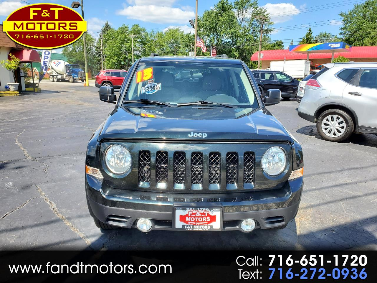 Jeep Patriot 4WD 4dr Latitude 2013
