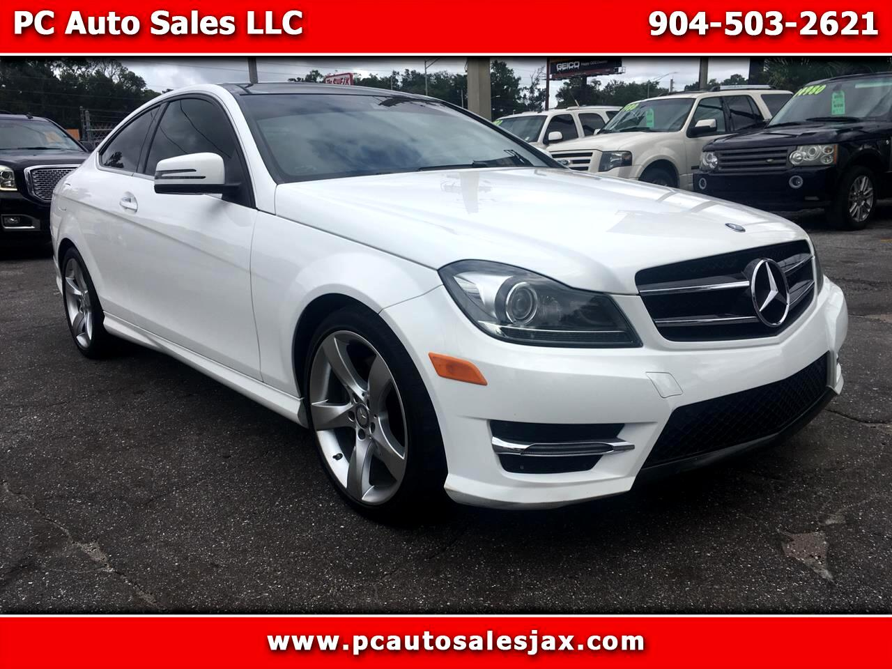 Used 2014 Mercedes Benz C Class C350 Coupe For Sale In