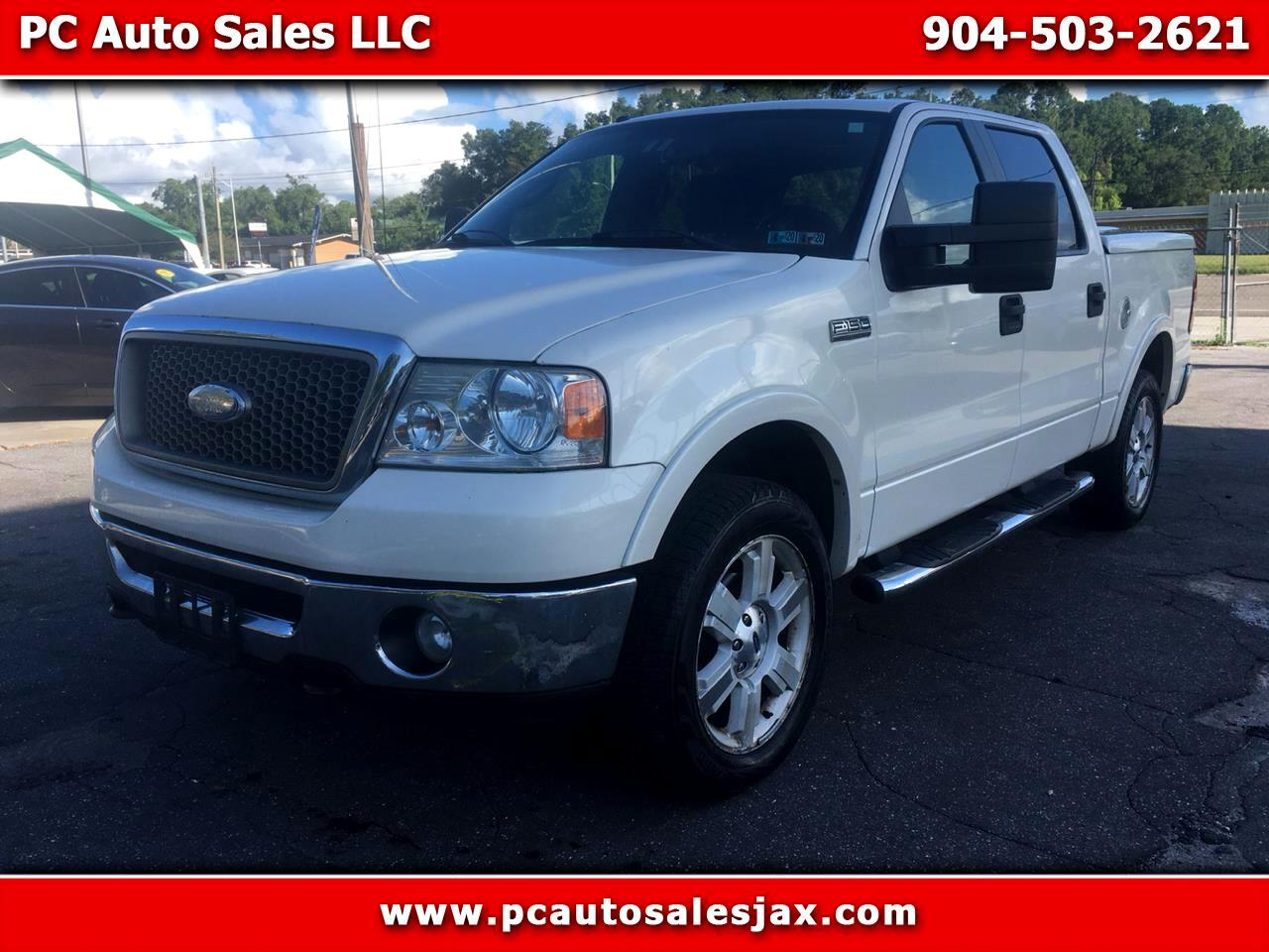Ford F-150 Lariat SuperCrew Short Box 4WD 2008