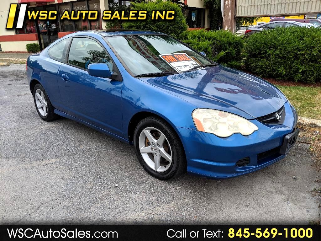 2002 Acura RSX 2dr Cpe Type-S 6-spd MT Leather
