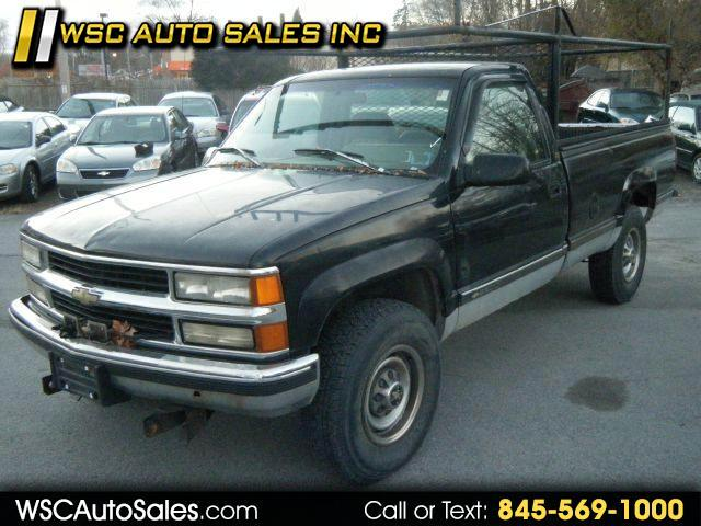 1994 Chevrolet C/K 2500 HD Reg. Cab 8-ft. Bed 4WD W PLOW