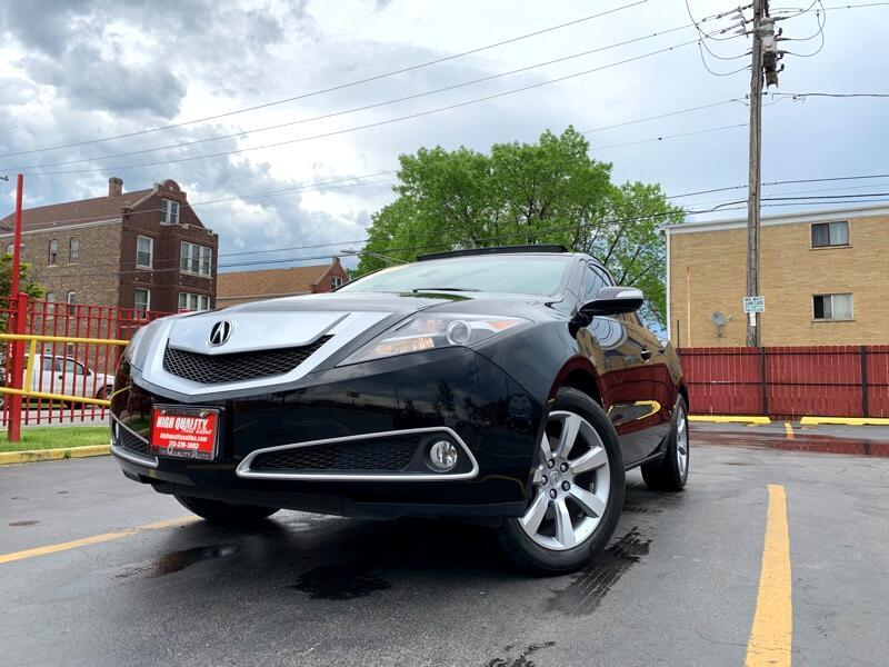 2012 Acura ZDX 6-Spd AT w/Tech Pkg