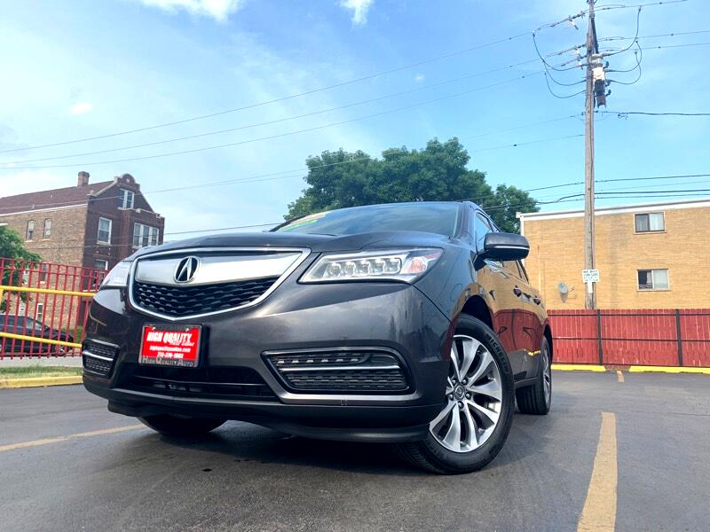 Acura MDX SH-AWD 6-Spd AT w/Tech Package 2014