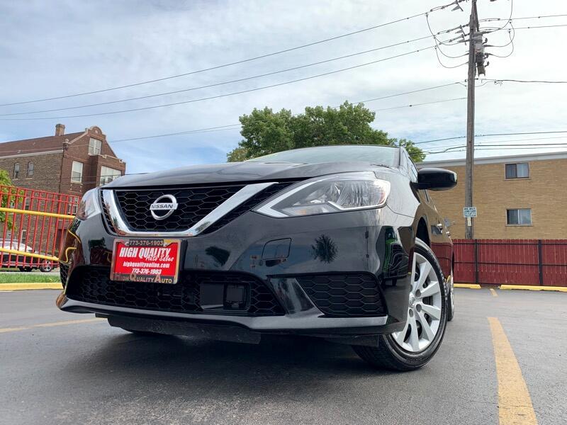 2018 Nissan Sentra 1.8L I4 F DOHC 16V
