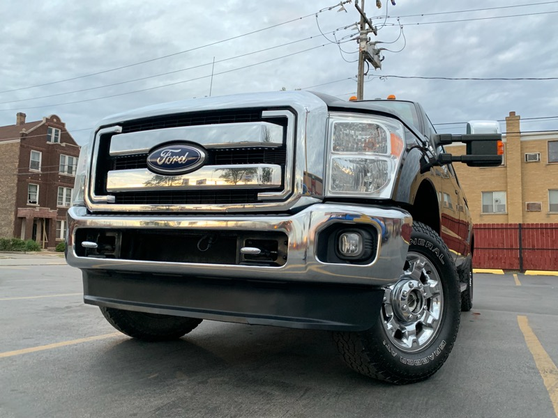 Ford F-250 SD Lariat 4WD 2012