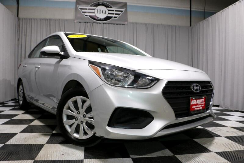 Hyundai Accent SEL 4-Door 6A 2018