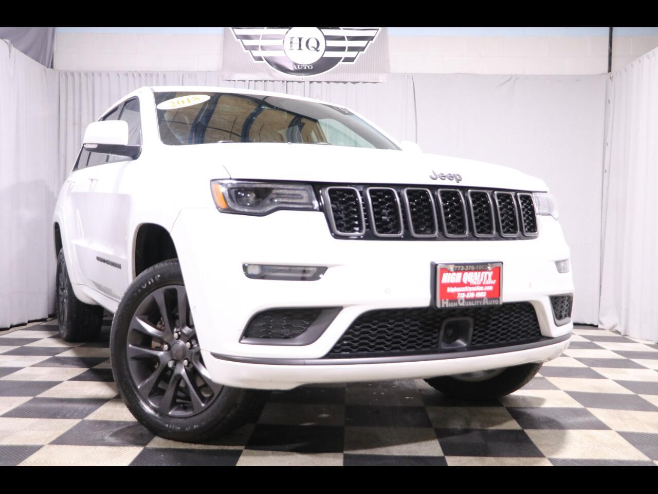 2018 Jeep Grand Cherokee High Altitude 4x4 *Ltd Avail*