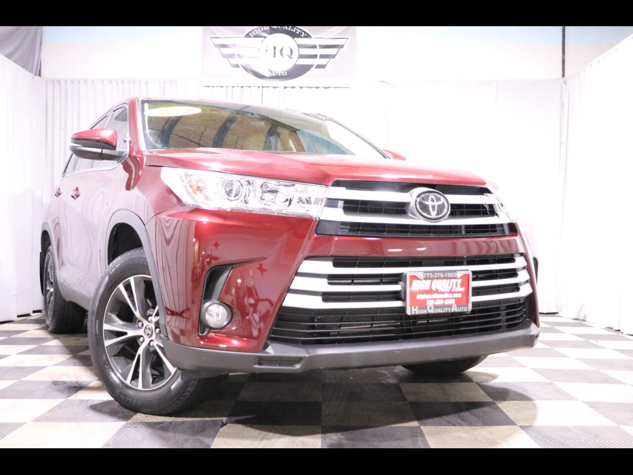 2019 Toyota Highlander LE Plus V6 AWD (Natl)
