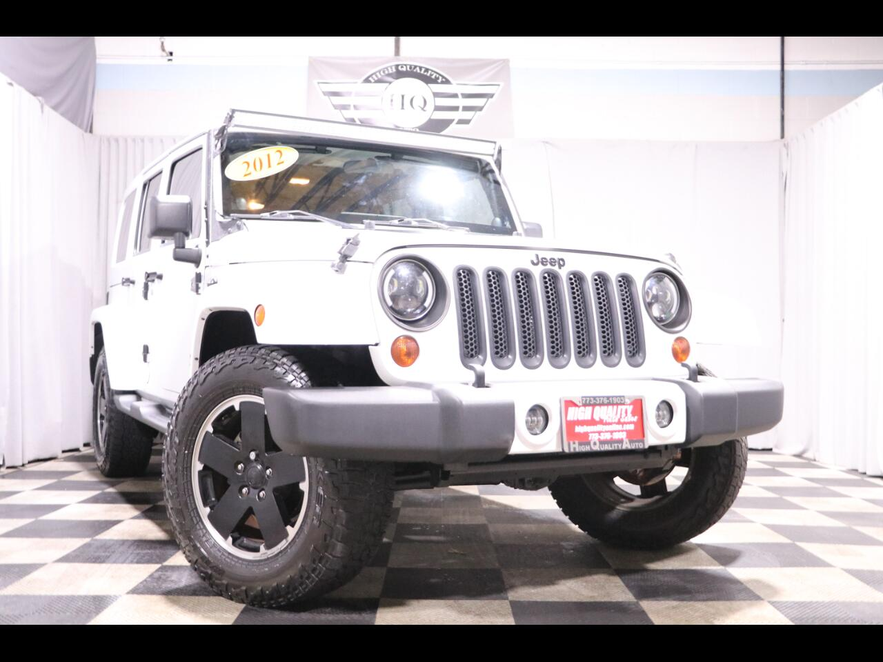 2012 Jeep Wrangler Unlimited 4WD 4dr Altitude *Ltd Avail*