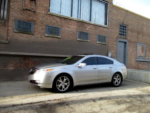 Acura TL 5-Speed AT SH-AWD with Tech Package and HPT 2010