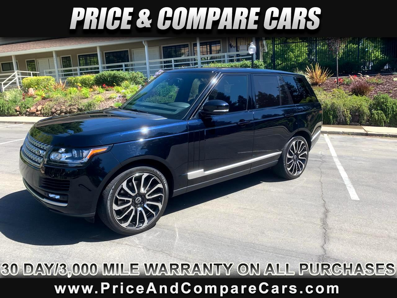 2014 Land Rover Range Rover 5.O V8 EBONY EDITION SUPERCHARGED