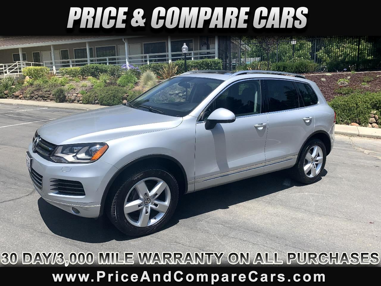 2014 Volkswagen Touareg TDI AWD LUXURY PACKAGE