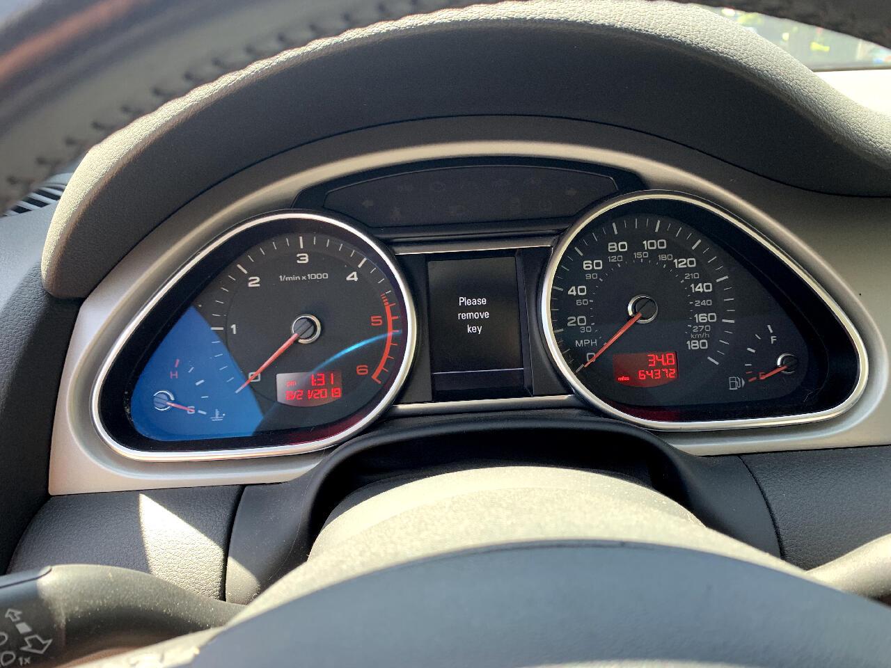 2010 Audi Q7 TDI QUATTRO PRESTIGE AWD