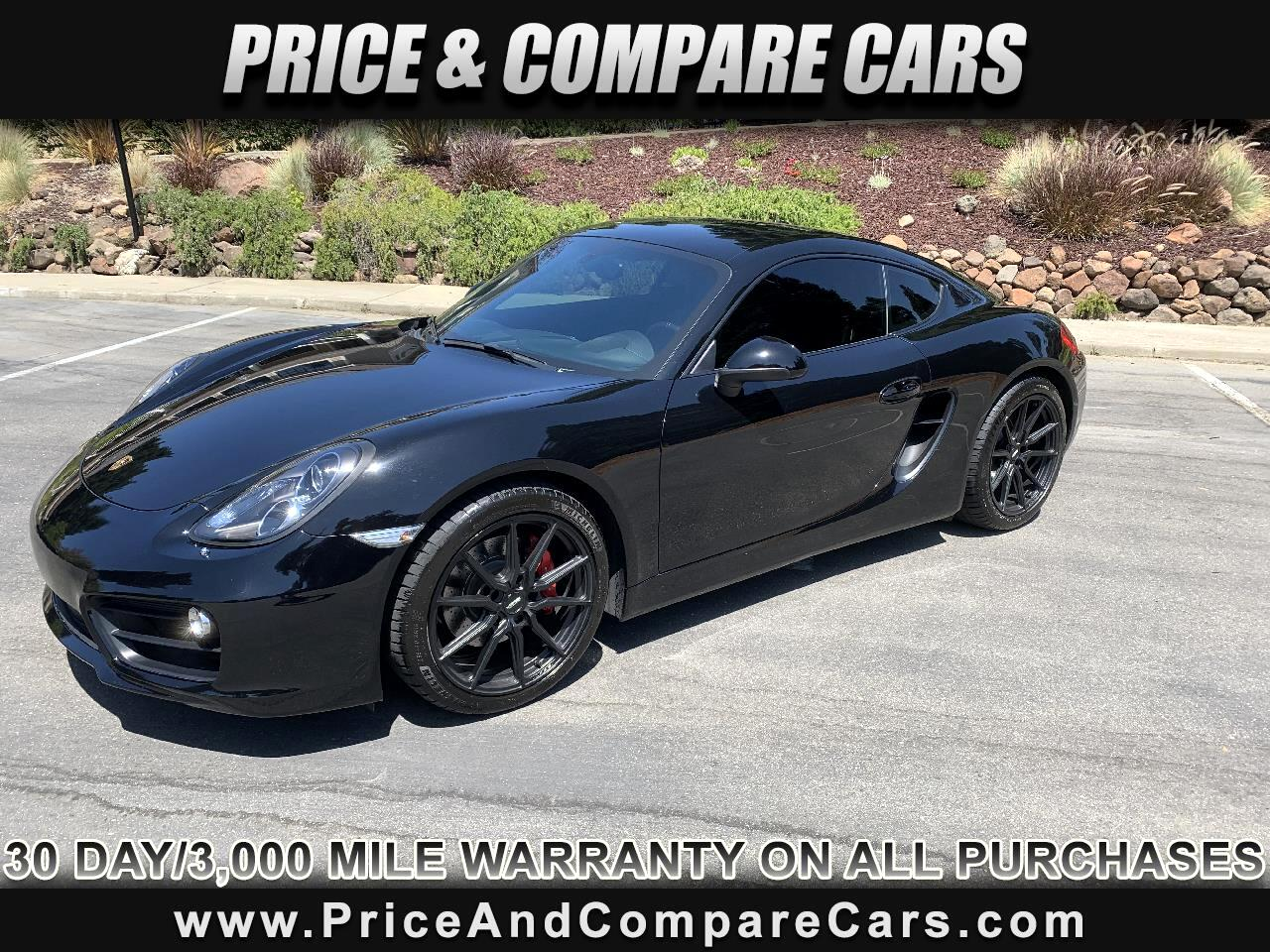2014 Porsche Cayman S COUPE PDK TRANSMISSION 79K NEW