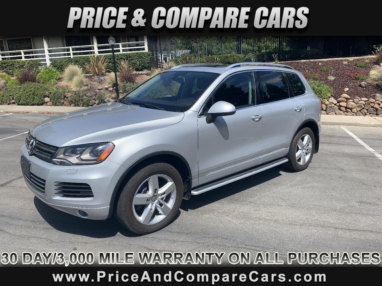 2012 Volkswagen Touareg TDI LUXURY PACKAGE PANO ROOF NAVI HEATED SEATS