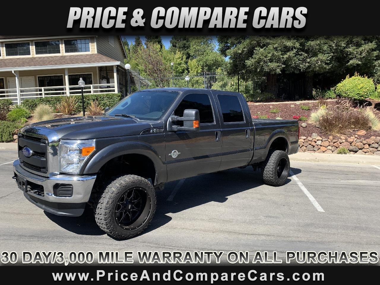 2016 Ford F-250 SD XL CREW CAB 4X4  POWERSTROKE DIESEL LIFTED