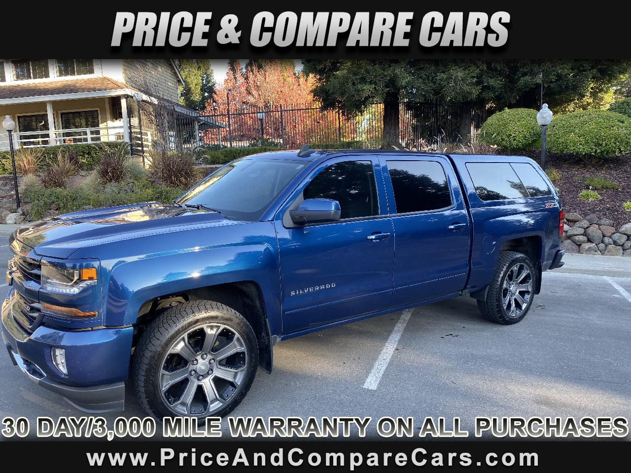 2017 Chevrolet Silverado 1500 LT Z71 CREW CAB 4X4 LEATHER NAVIGATION HEATED SEAT