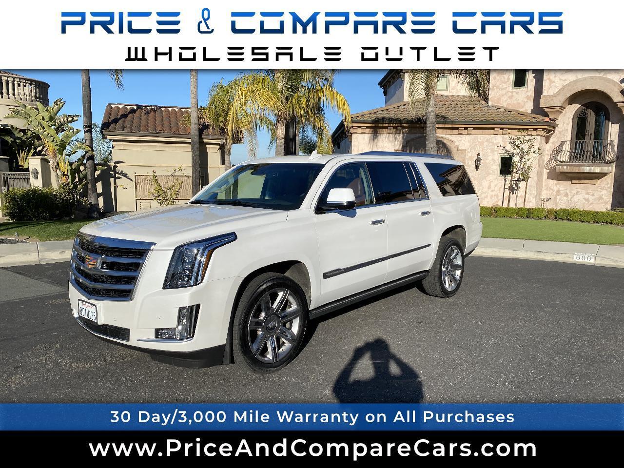 Cadillac Escalade ESV 4WD 4dr Premium Collection 2016