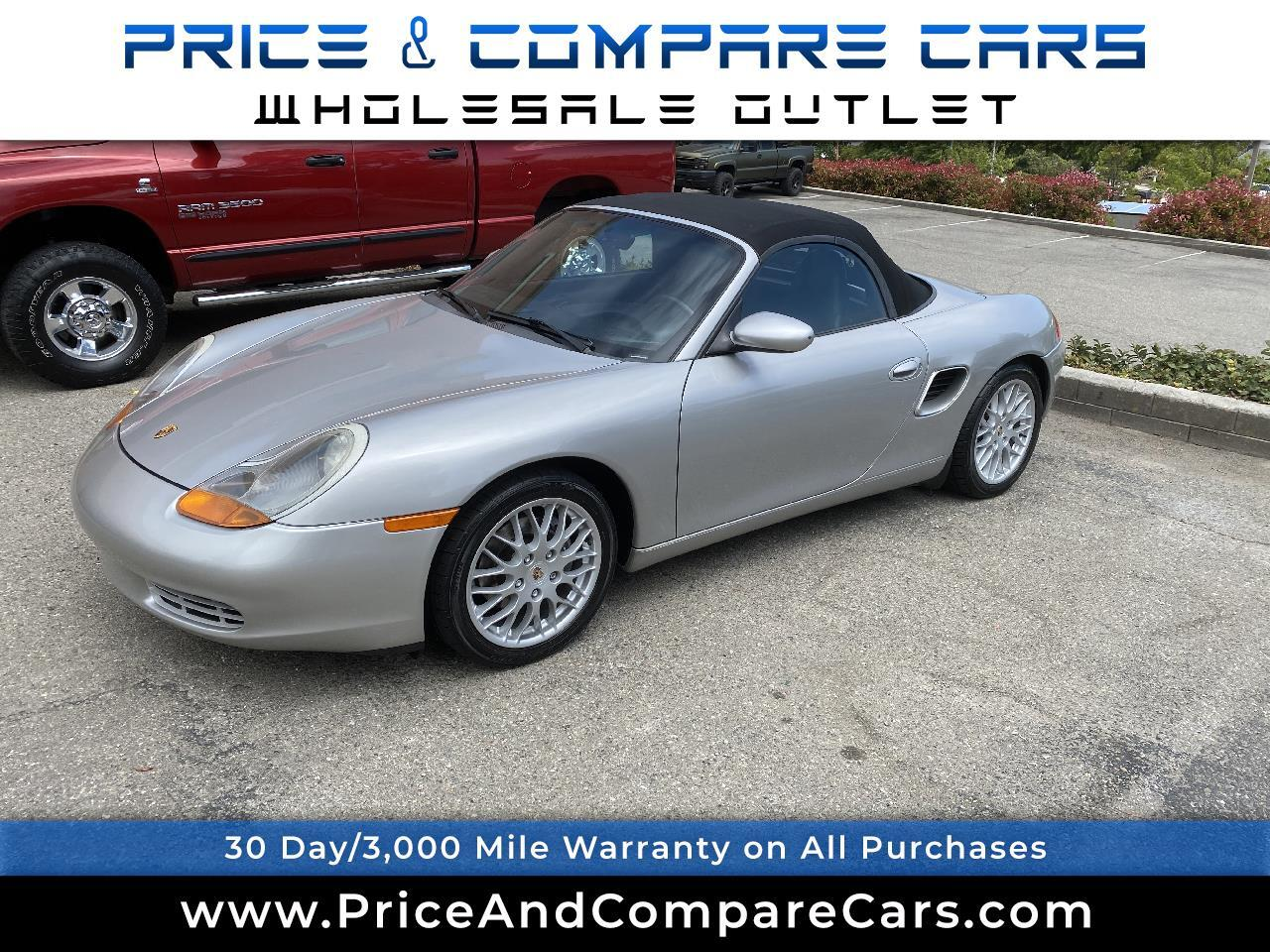 Porsche Boxster 2dr Roadster Manual 2000