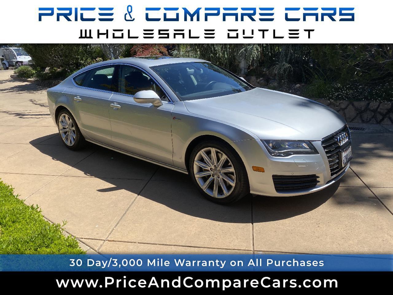 Audi A7 4dr HB quattro 3.0 Premium Plus 2012