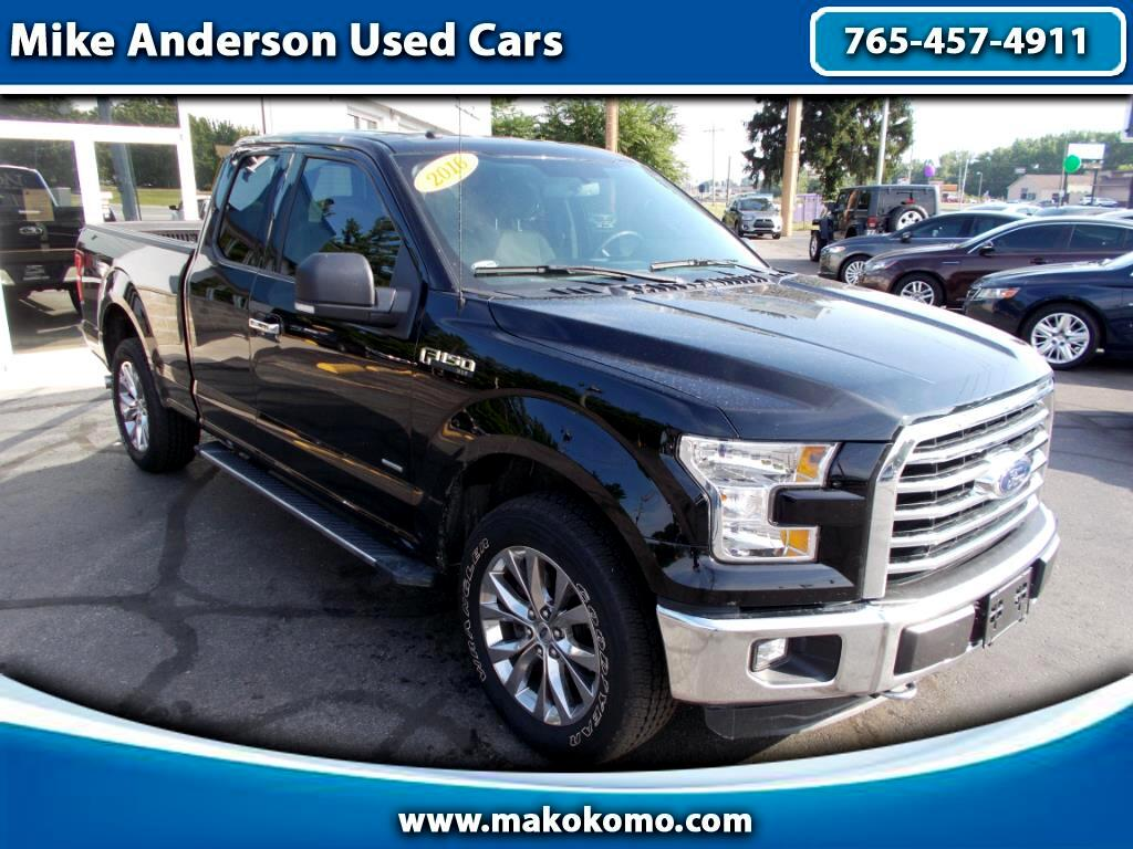 "2016 Ford F-150 4WD SuperCab 145"" Lariat"