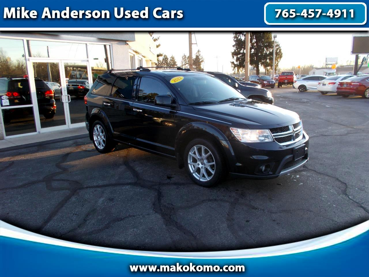 2012 Dodge Journey AWD 4dr R/T