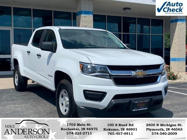 """Chevrolet Colorado 4WD Crew Cab 140.5"""" WT 2017"""