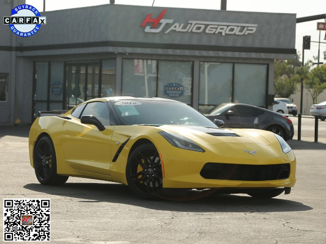 2016 Chevrolet Corvette Z51 3LT Coupe Automatic