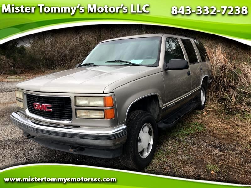 1999 GMC Yukon SLE 4WD