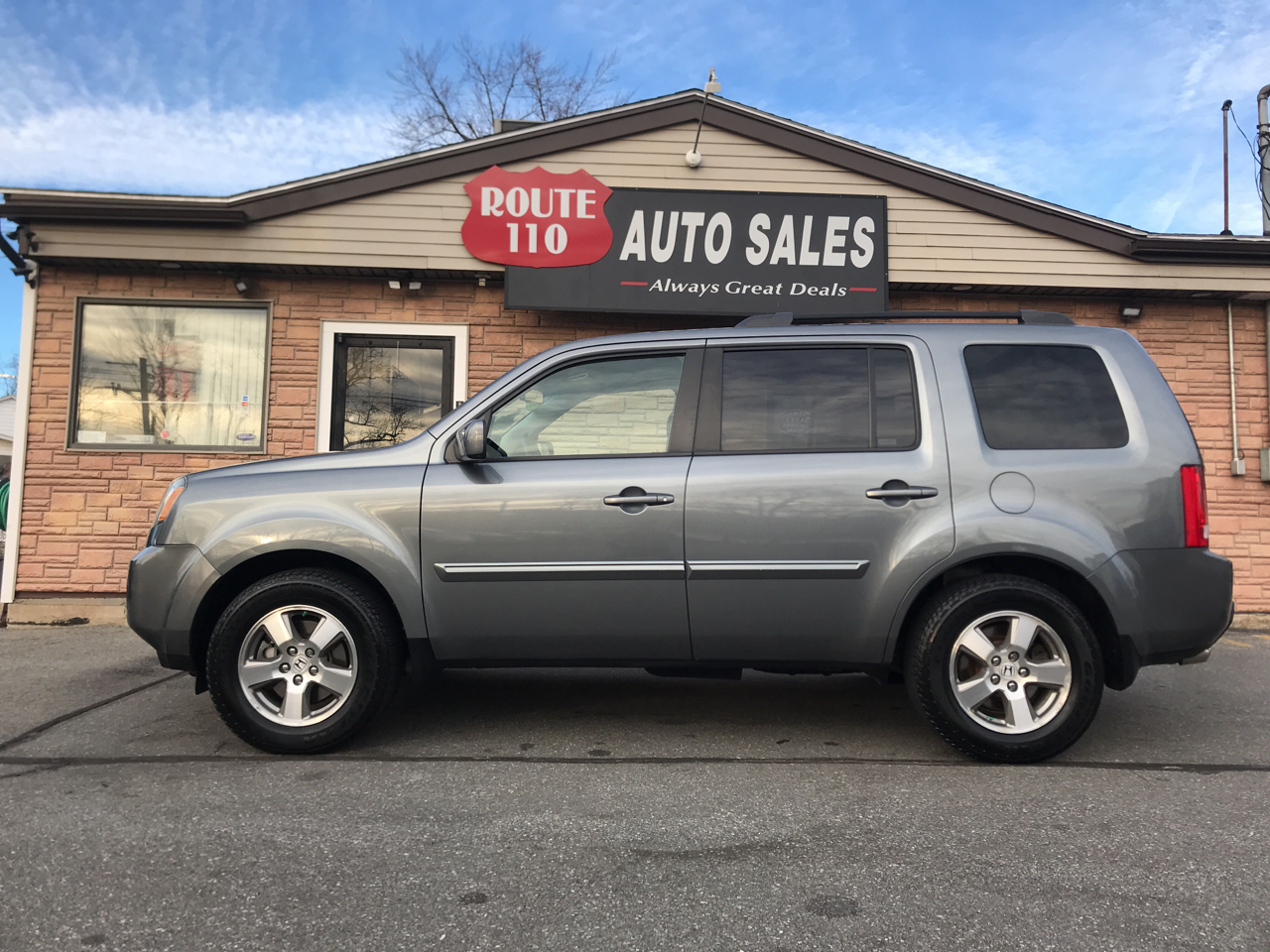 2009 Honda Pilot EX-L 4WD 5-Spd AT with DVD