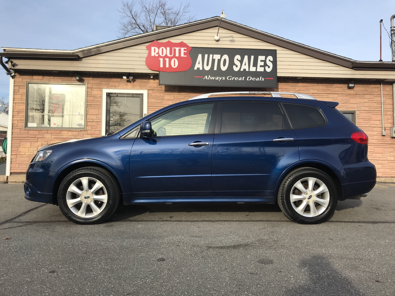 2011 Subaru Tribeca Limited 7-Passenger with Navigation and Rear DVD