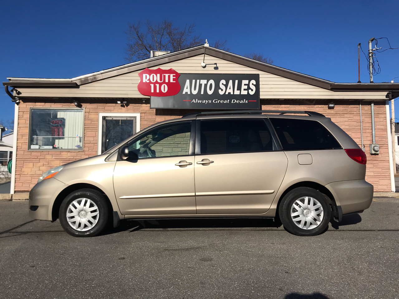 2006 Toyota Sienna 5dr 7-Pass Van LE FWD (Natl)