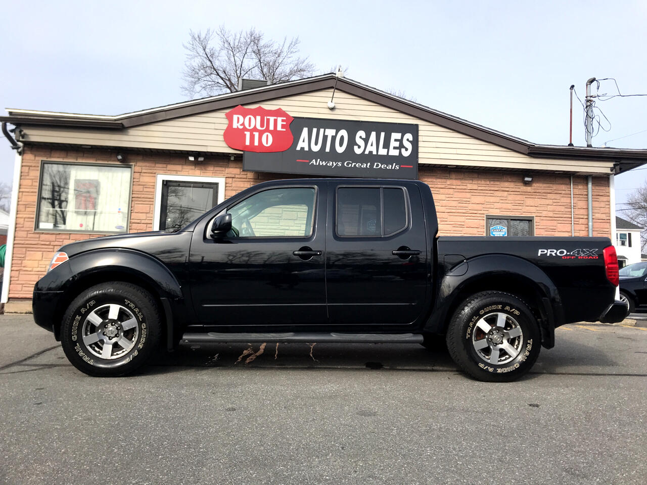 2010 Nissan Frontier PRO-4X Crew Cab 5AT 4WD