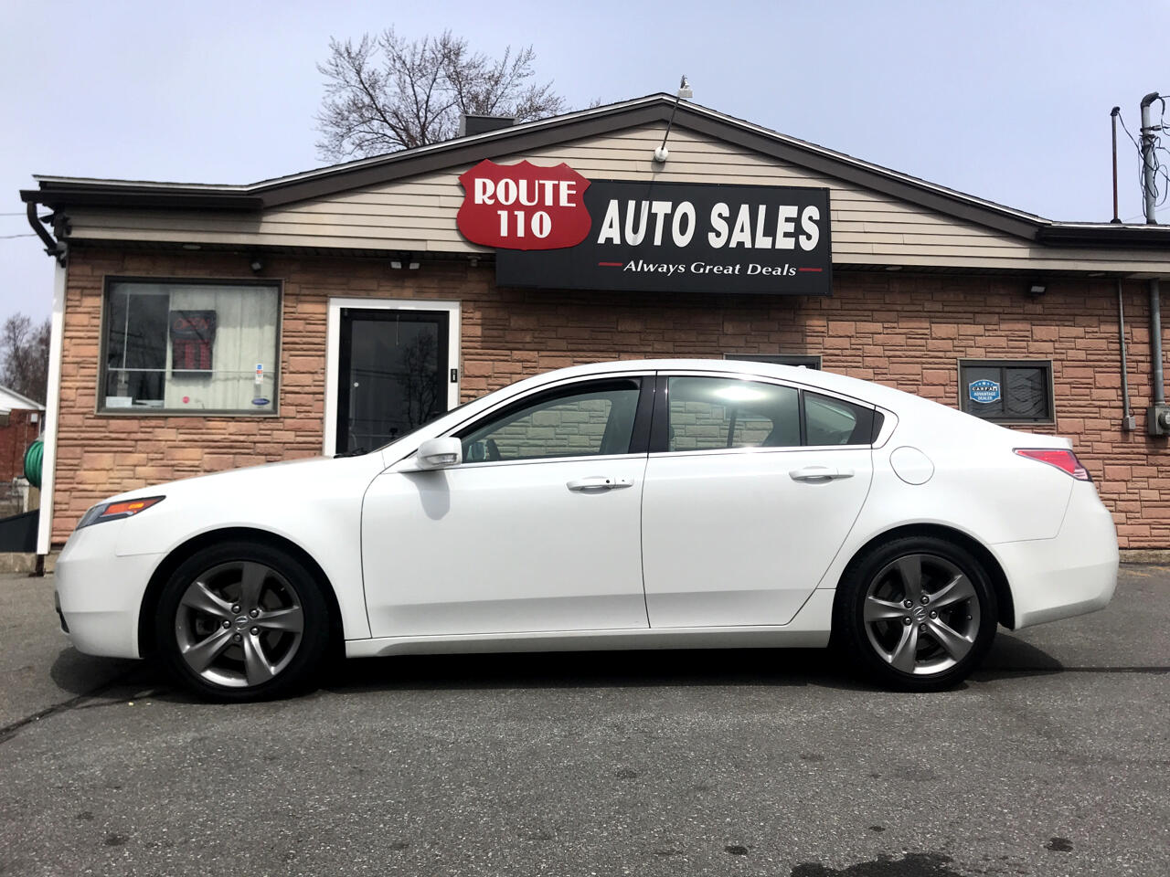 2014 Acura TL 6-Speed AT SH-AWD with Tech Package