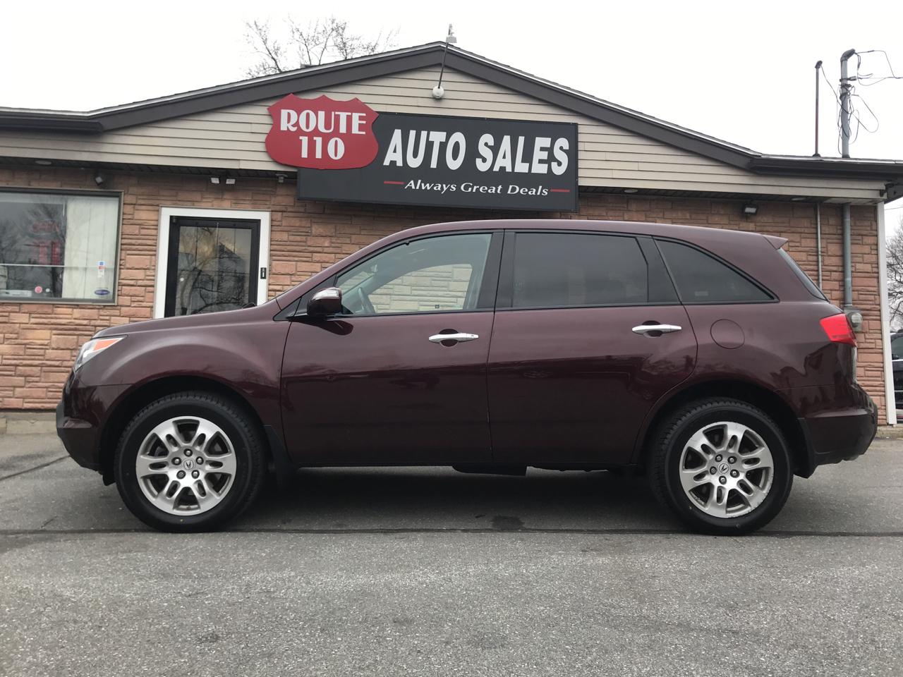 2009 Acura MDX 4WD 4dr Tech/Entertainment Pkg
