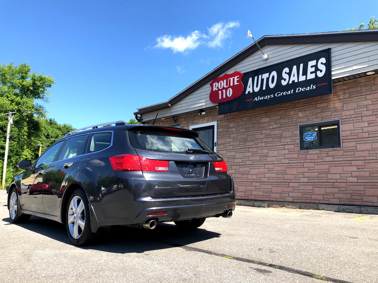 2012 Acura TSX 4dr auto wagon with Tech Package
