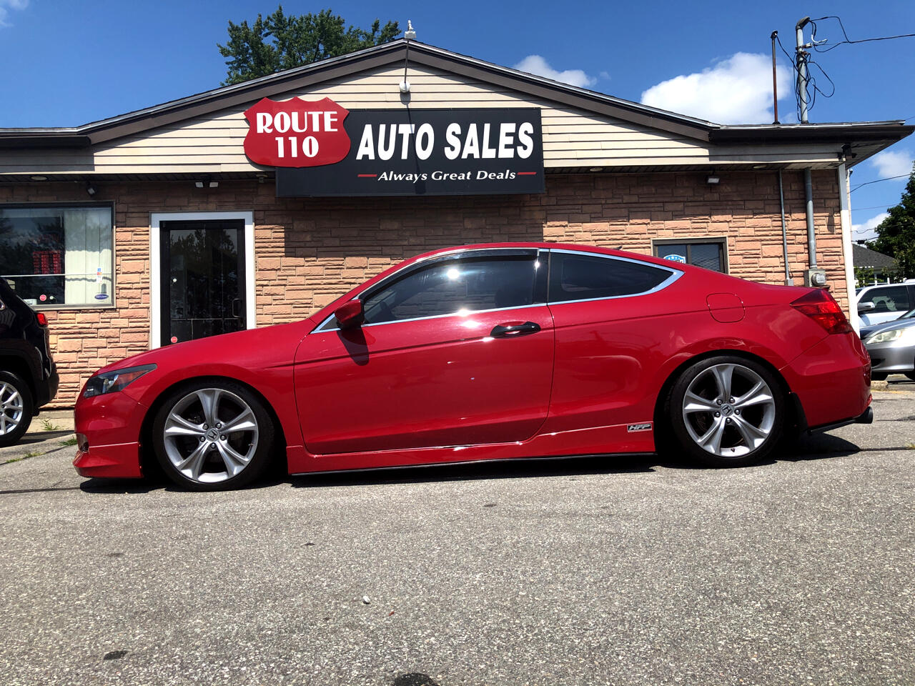 2012 Honda Accord EX-L V6 Coupe 6-Speed with Navigation