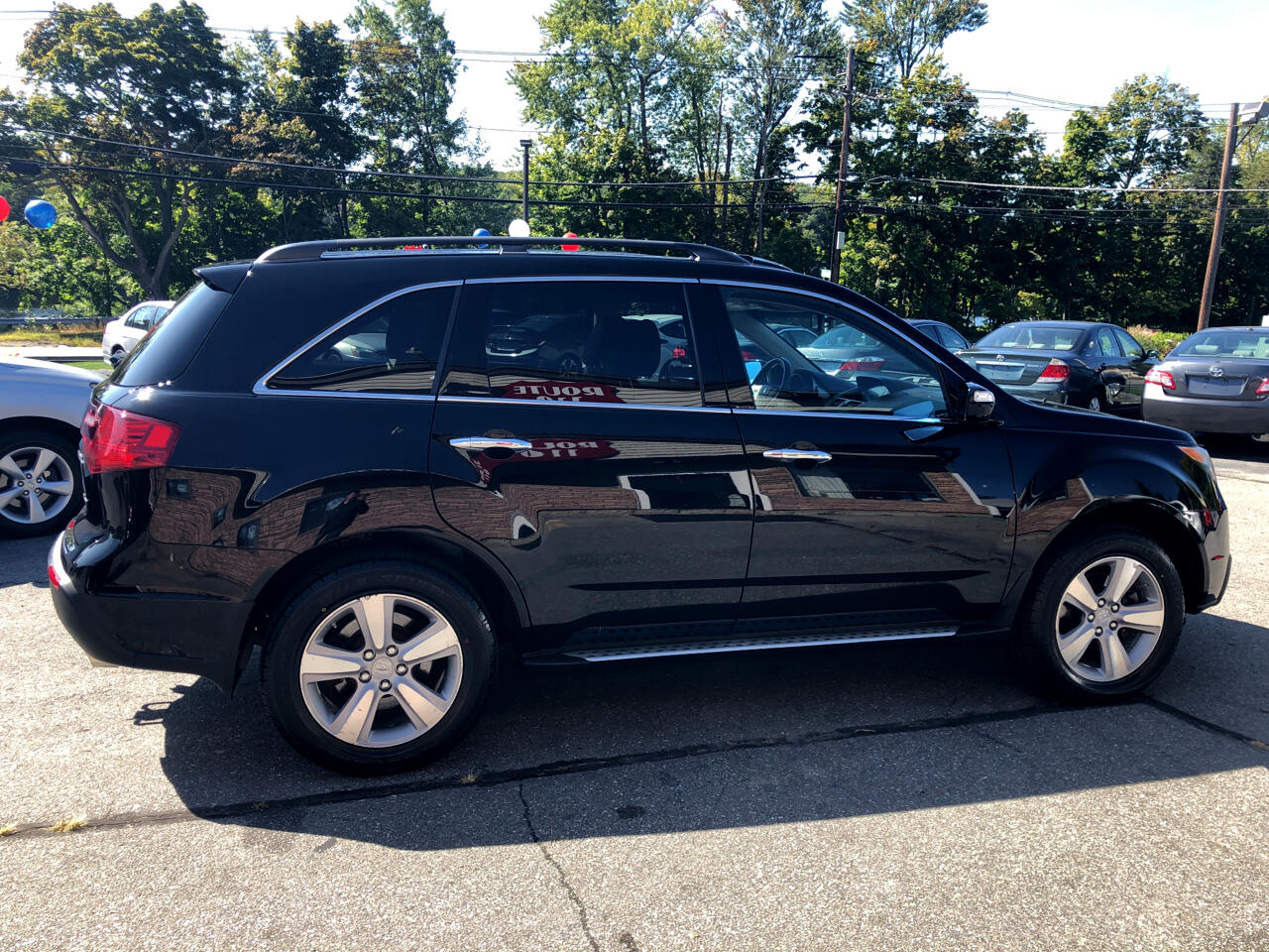 Acura MDX AWD 4dr Tech/Entertainment Pkg 2011